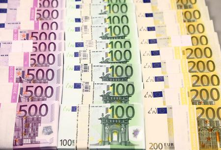 Euro near seven-week lows before PMI data release