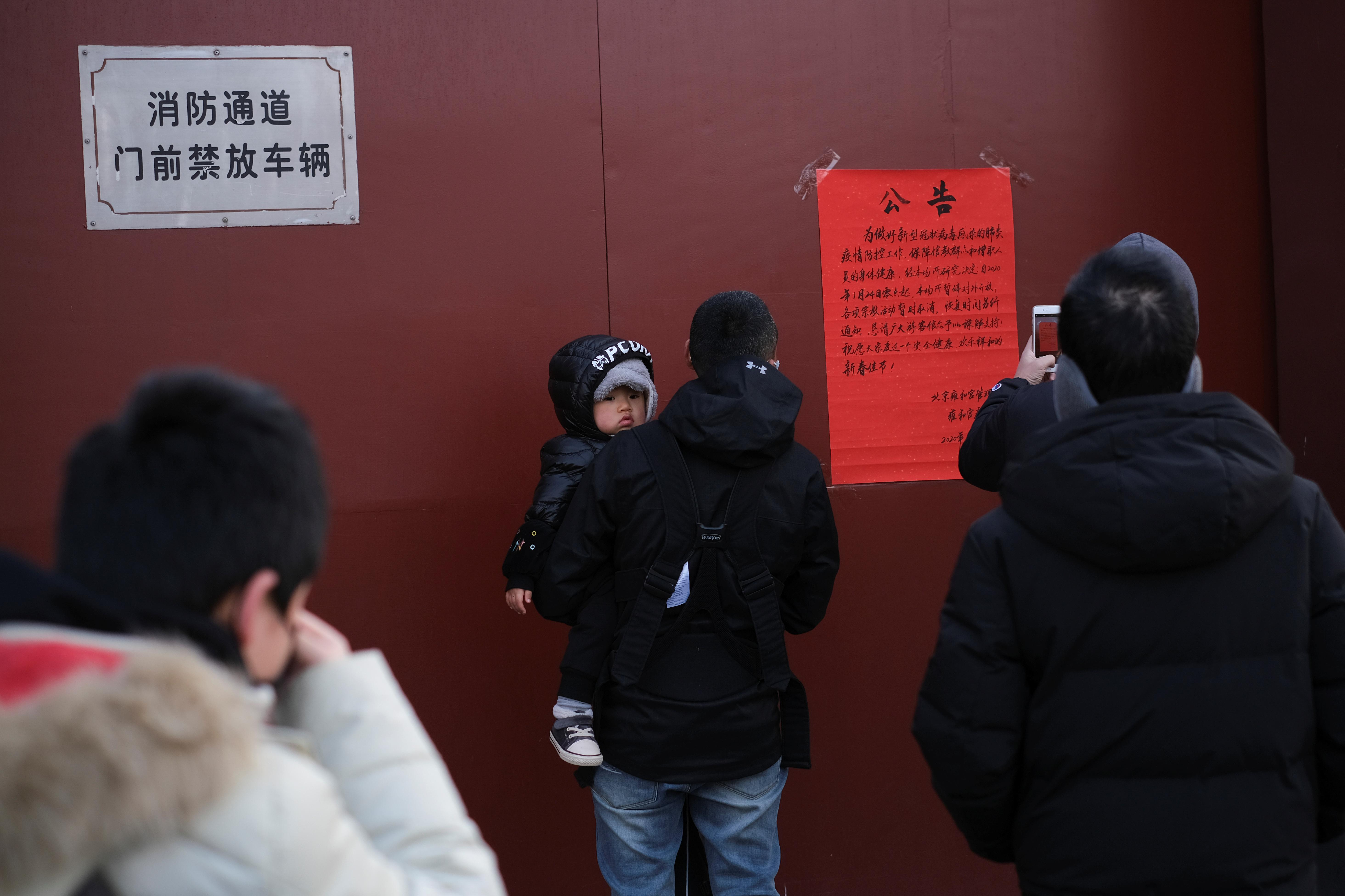 China shuts down transport, temples as virus death toll rises to 25