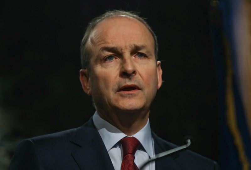 Ireland's Fianna Fail pledges early preparations for unification vote