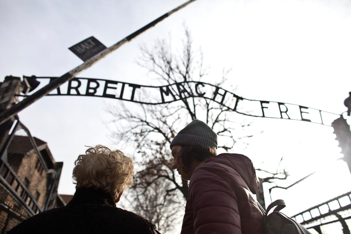 Sorrow and triumph, an Auschwitz survivor's journey back to a former hell