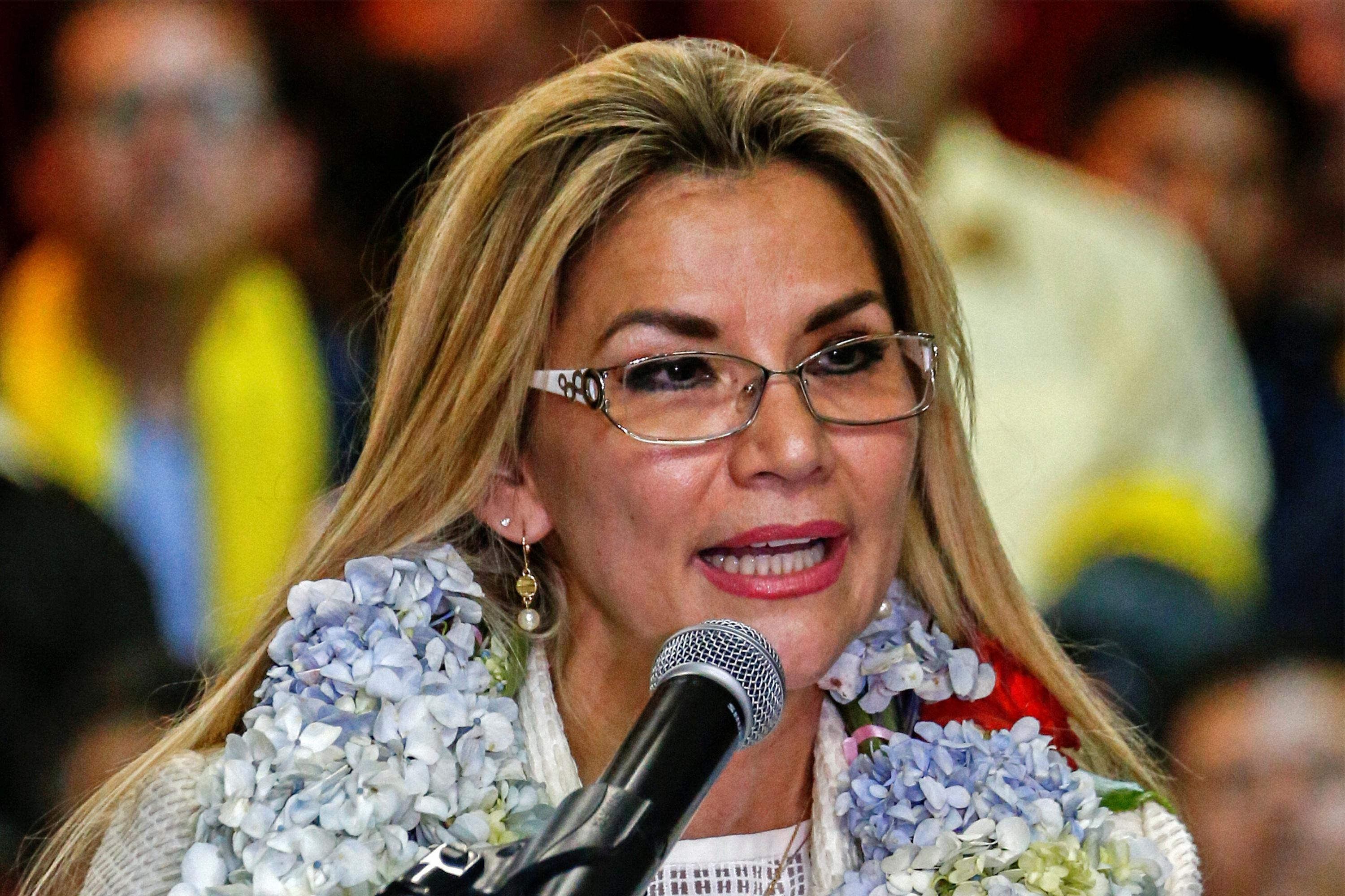 Bolivia's interim leader Anez asks ministers to resign after...