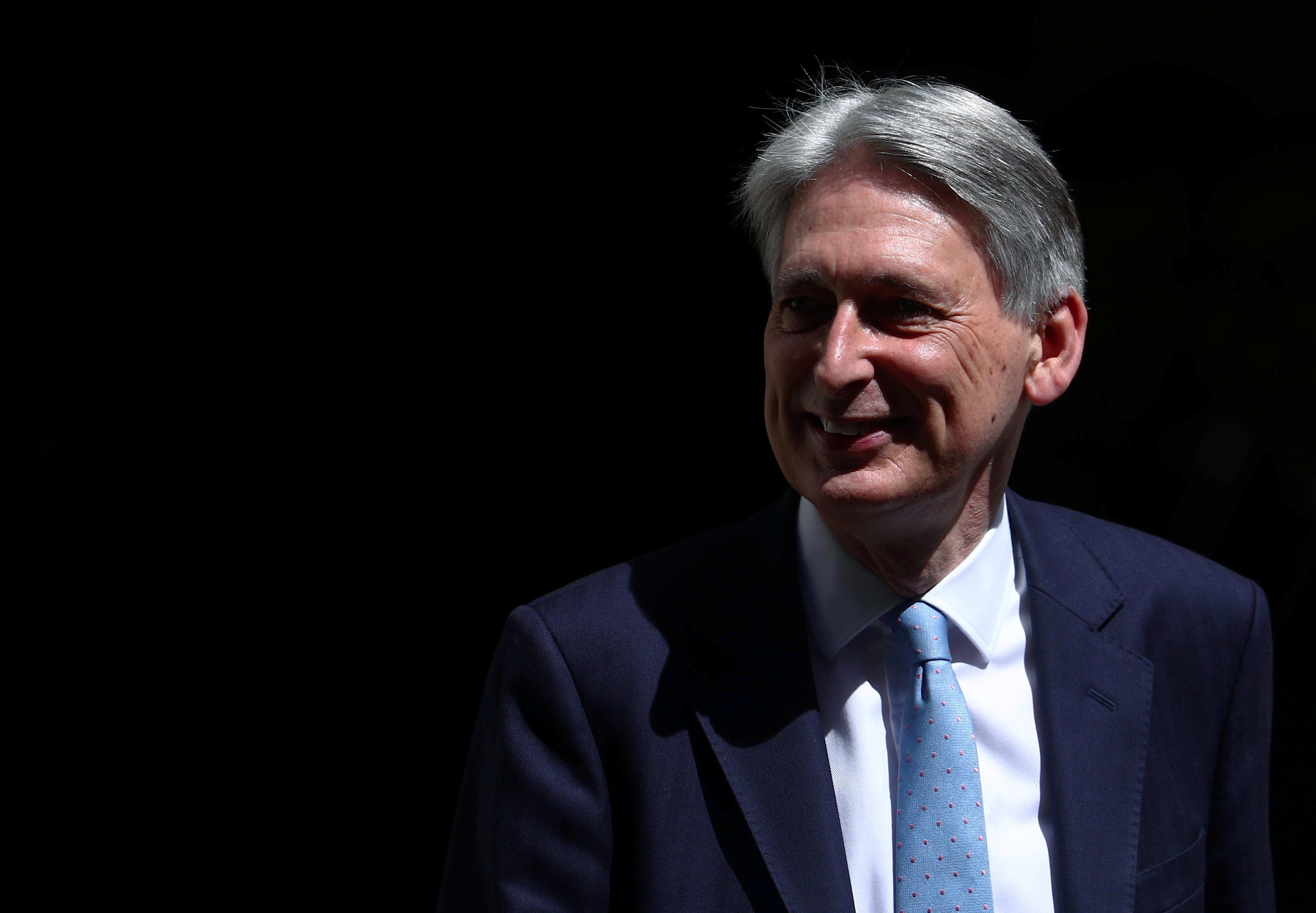 Former British finance minister Philip Hammond joins OakNorth board