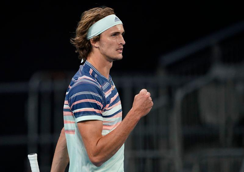 Zverev halts Rublev juggernaut to reach first Melbourne quarters