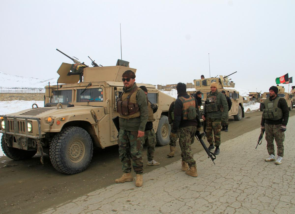 U.S. military plane crashes in Afghanistan, Taliban claims responsibility