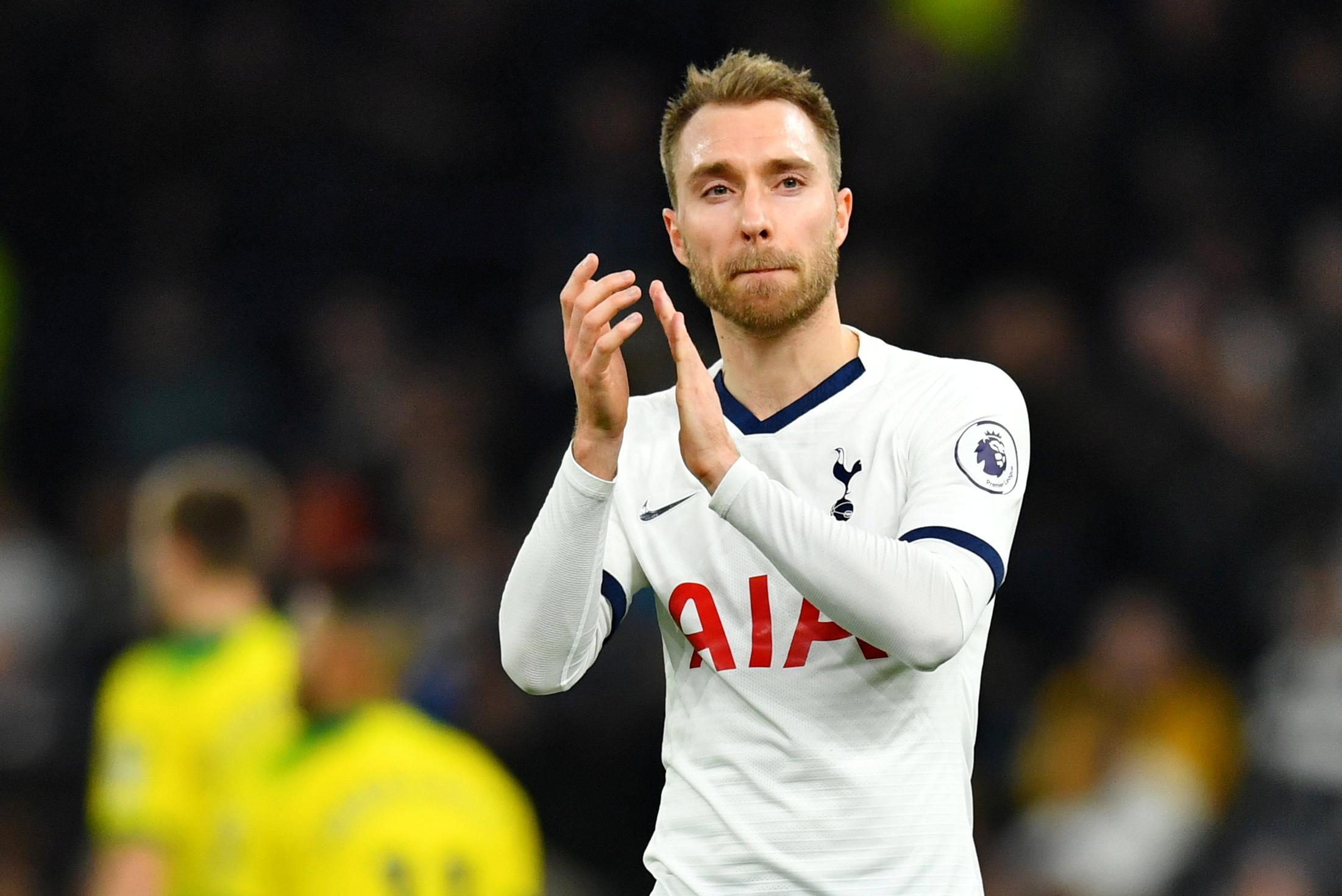 Inter Milan sign Denmark playmaker Eriksen from Spurs