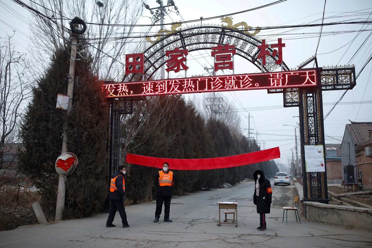 """Image result for Wuhan people keep out: Chinese villages shun outsiders as virus spreads"""""""