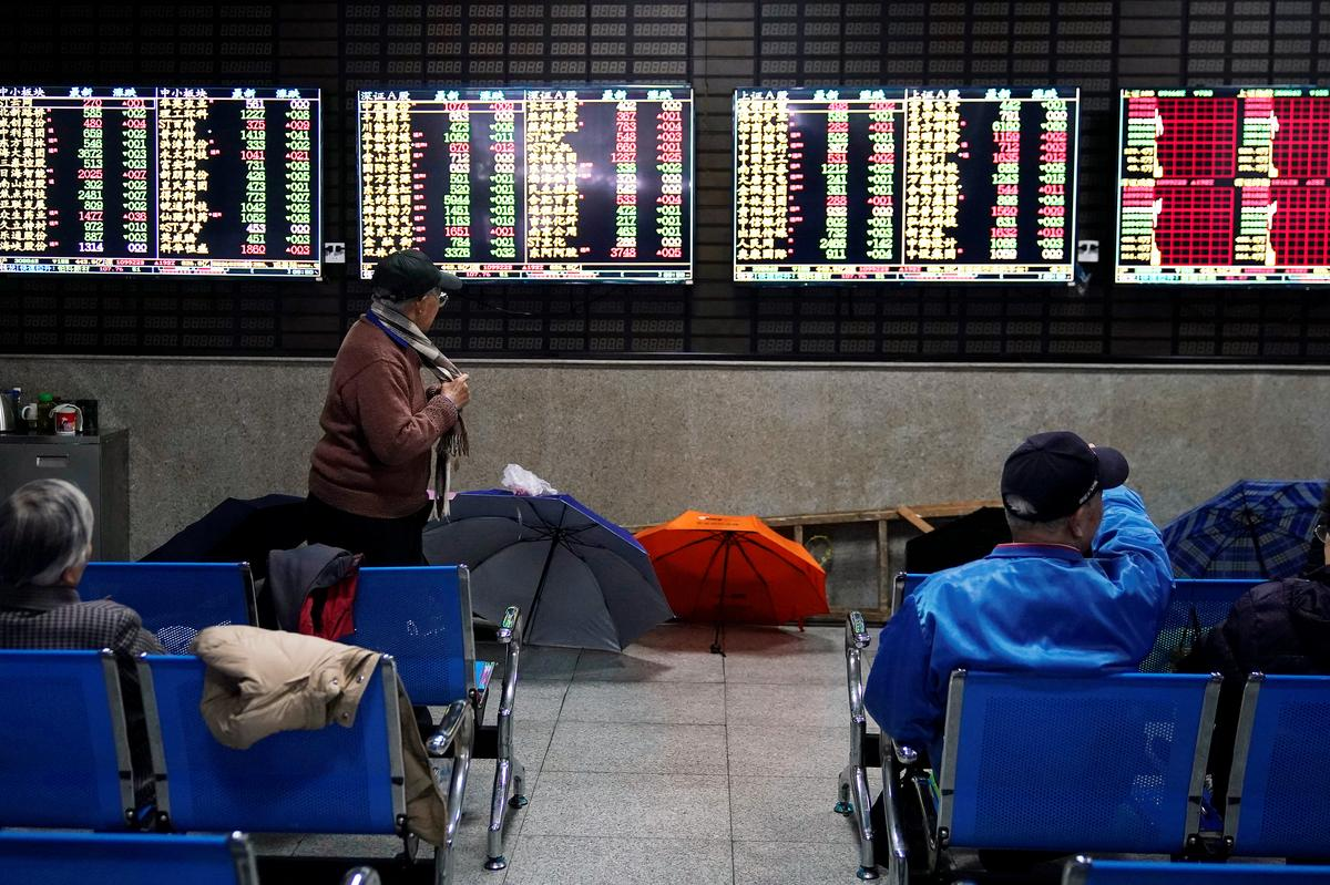 Asia shares struggle for footing after fraught week