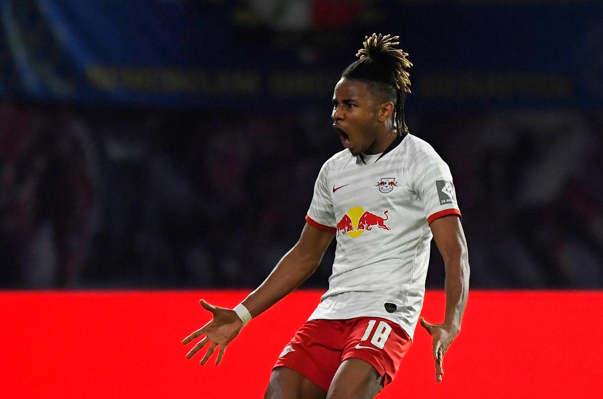 Leipzig's Nkunku rescues 2-2 draw with late strike against Gladbach