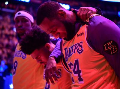 Lakers play first game since Kobe Bryant's death