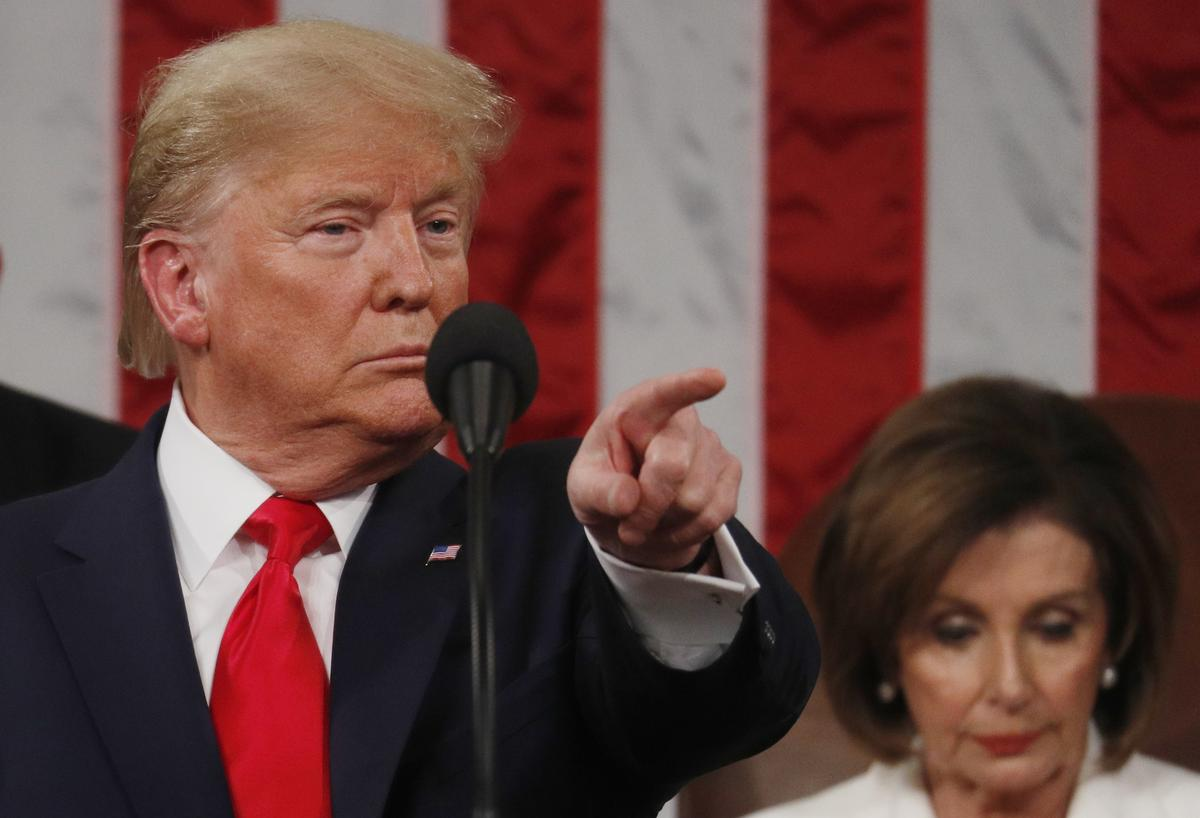 In political speech to Congress, Trump pokes at Democrats' divide on healthcare