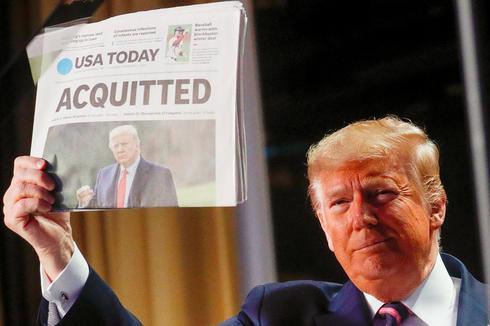 Senate acquits Trump in historic vote