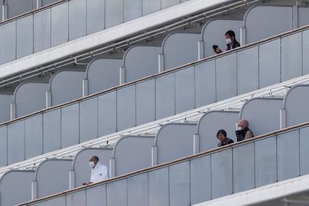 Coronavirus cases on cruise liner off Japan jump to 61