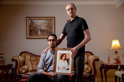 Families of Iran crash victims put lives back together