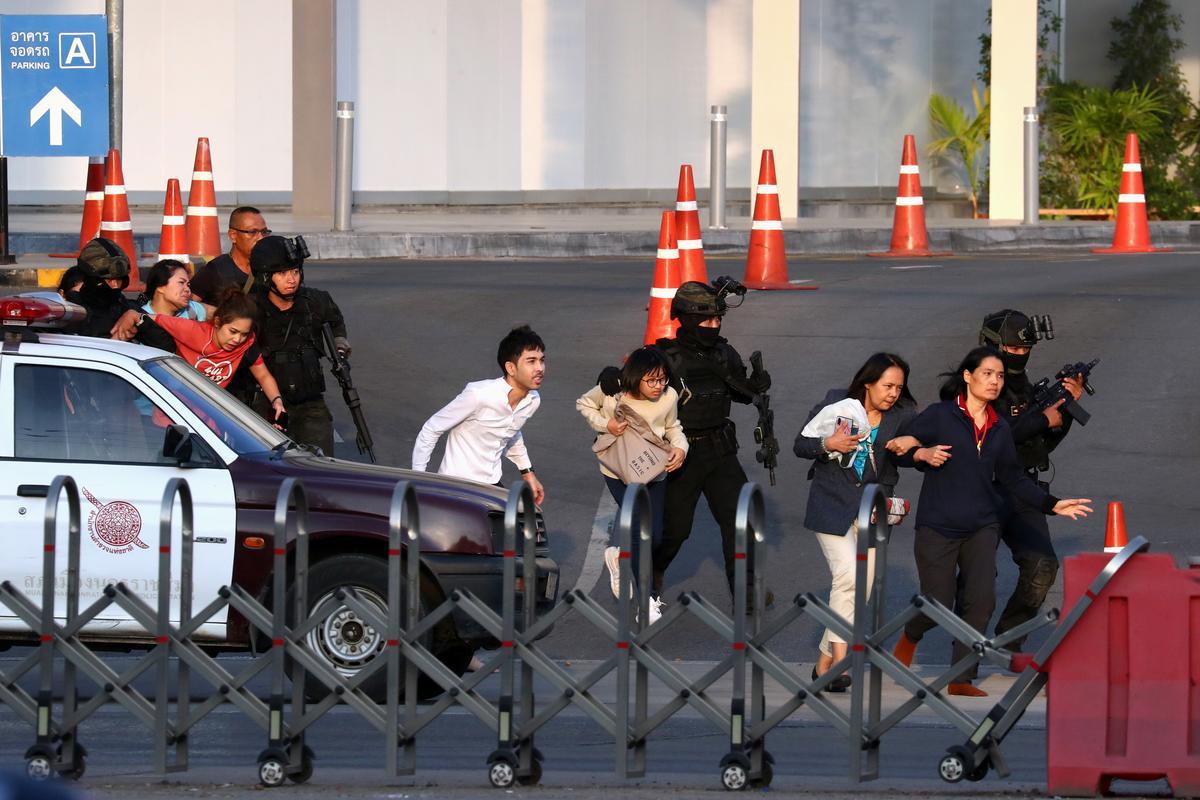 Thai soldier kills 26 in rampage before being shot