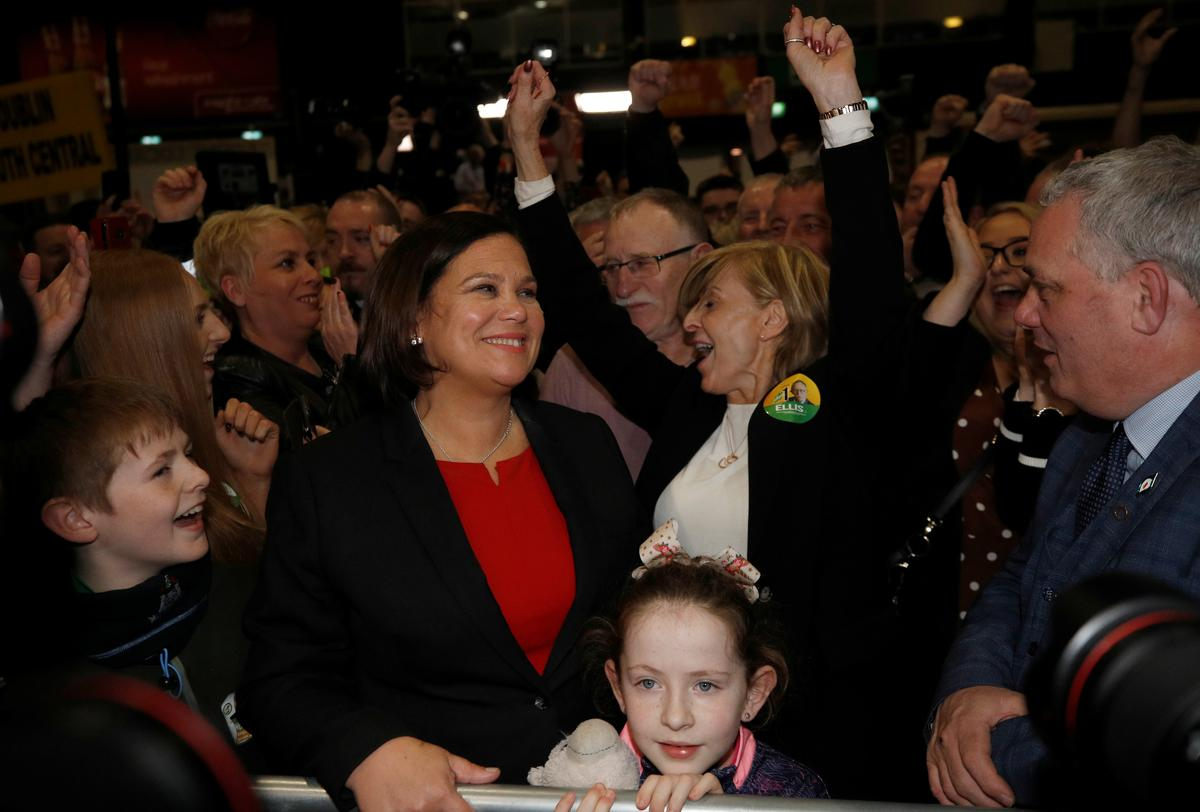 Irish nationalists Sinn Fein demand place in government after strong election showing