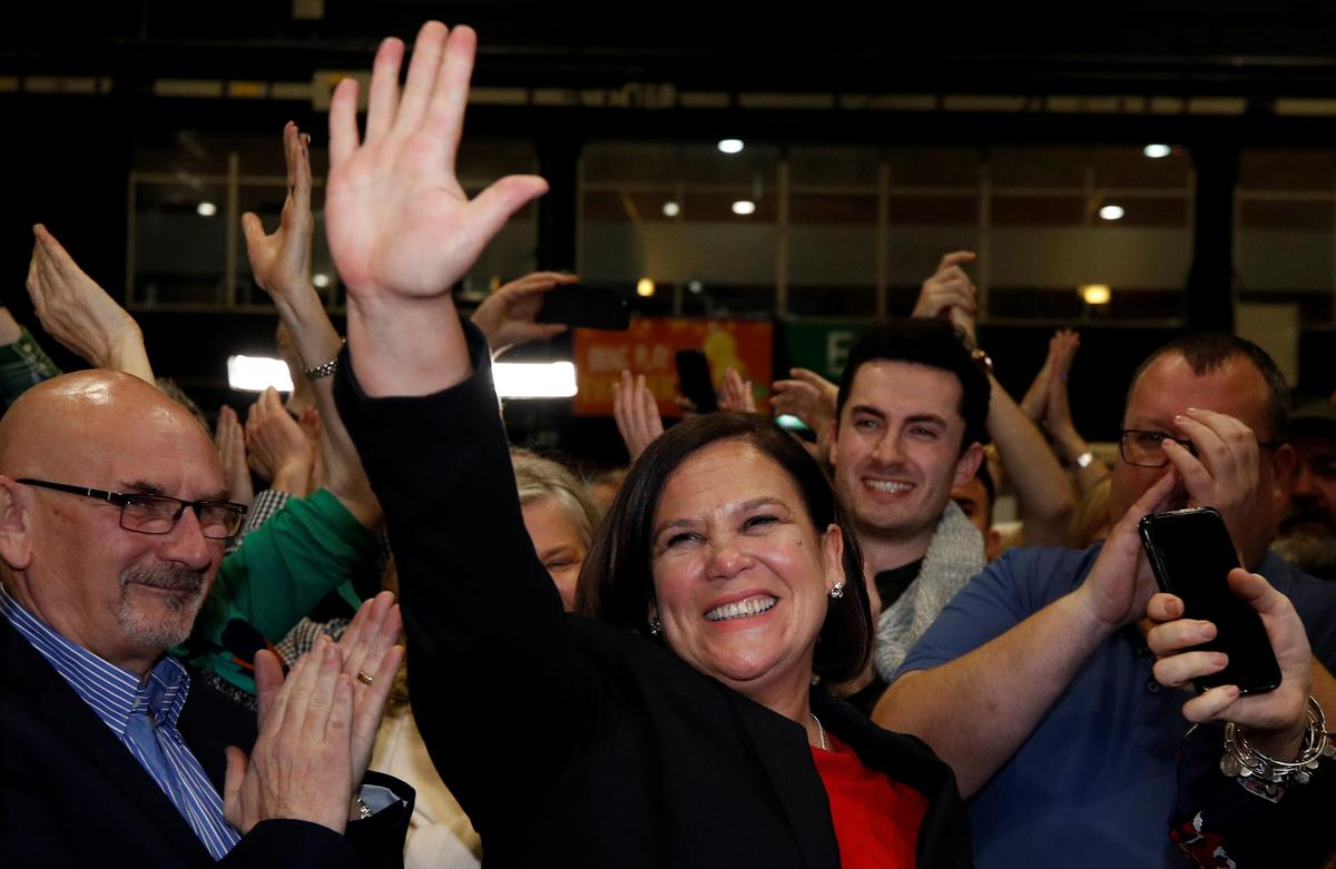 Sinn Fein says preference is to form a left-wing government