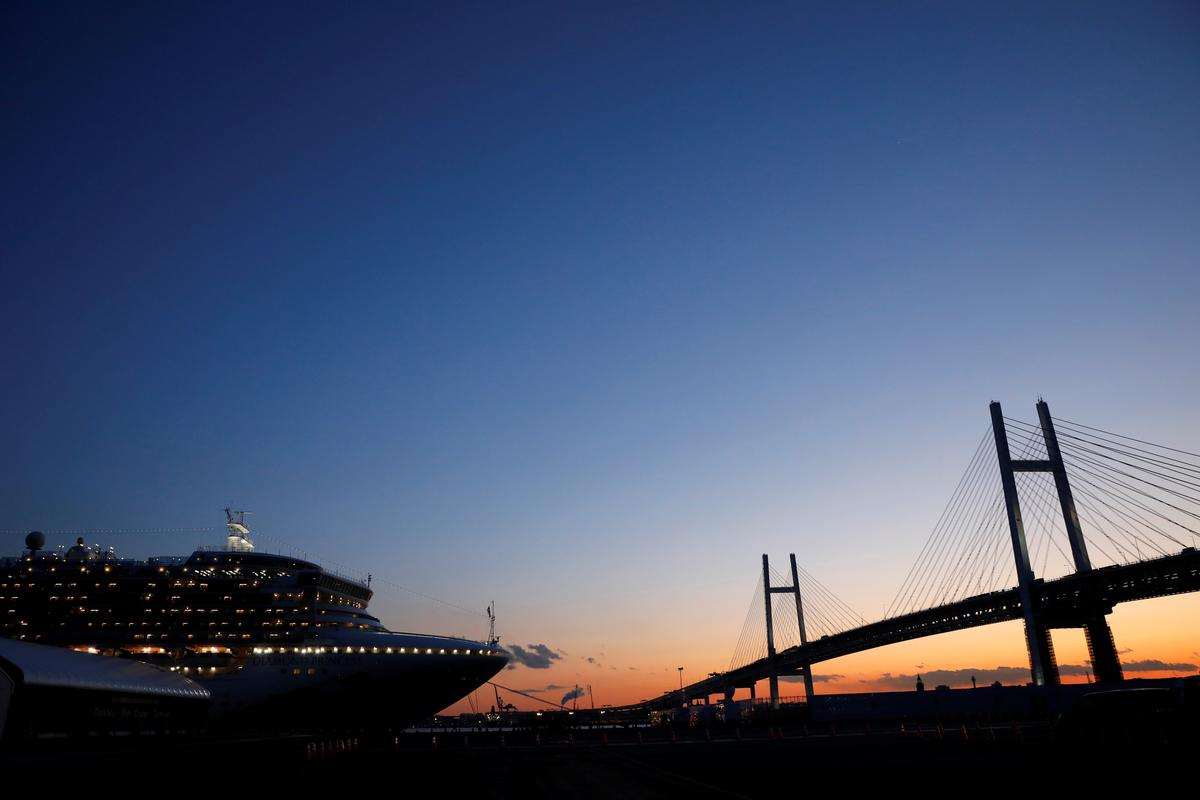 Sixty-six new infections of coronavirus confirmed on ship off Japan: statement