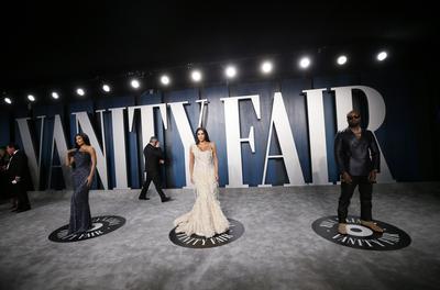 Vanity Fair Oscar party red carpet