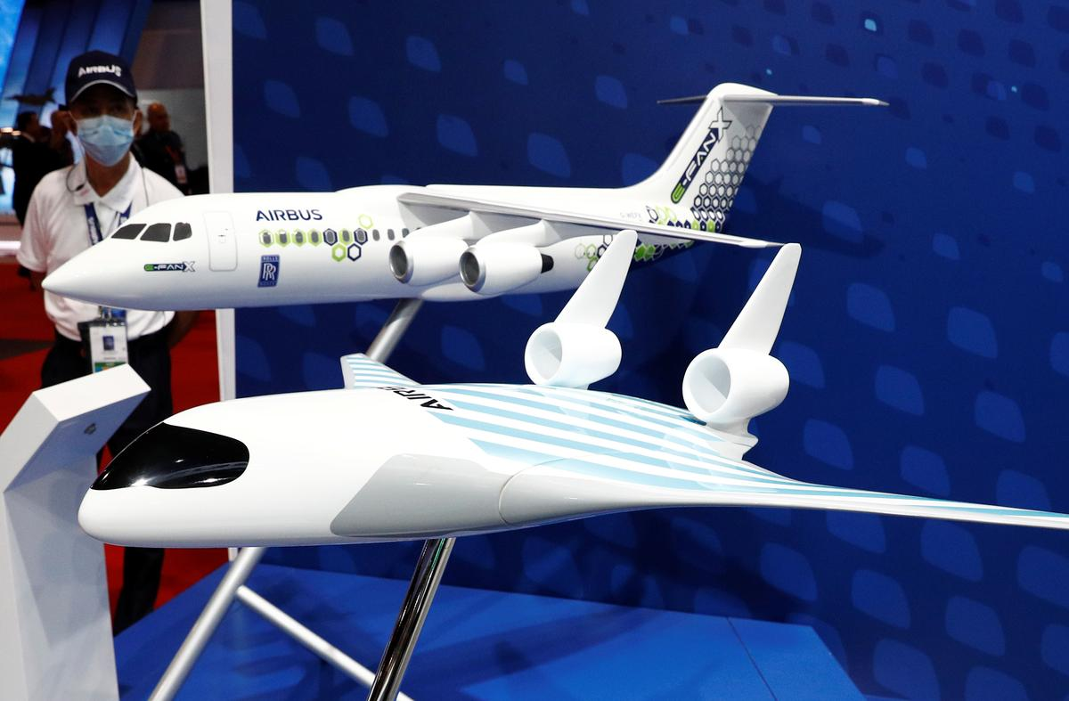 Airbus unveils 'blended wing body' plane design after secret flight tests
