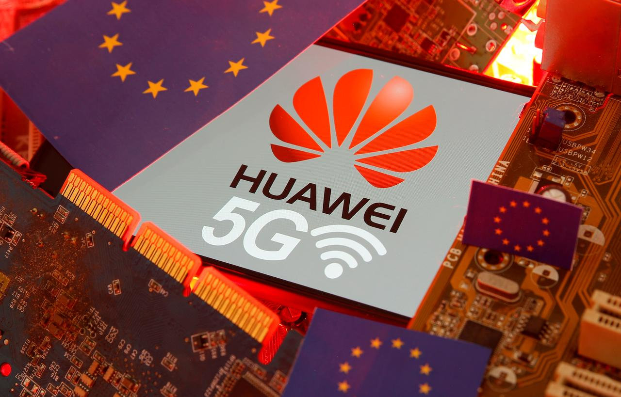 Image result for Merkel's conservatives stop short of Huawei 5G ban in Germany