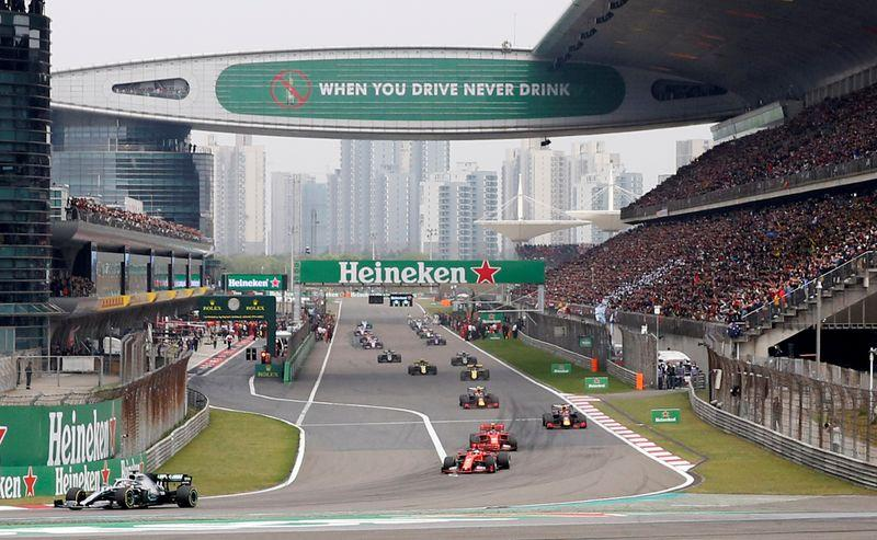 F1 Chinese Grand Prix postponed due to coronavirus