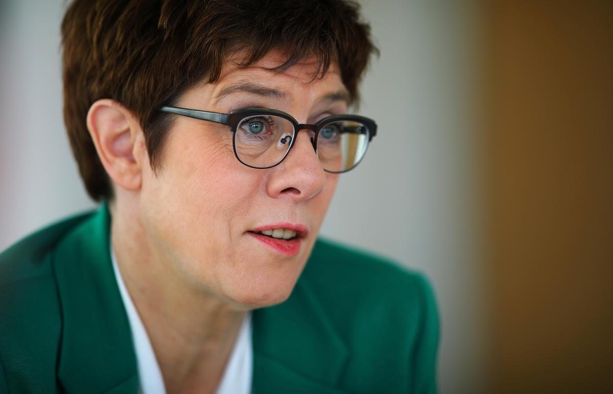 Germany's Kramp-Karrenbauer steps up CDU succession planning