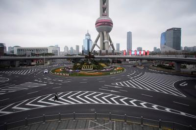 China's empty streets amid coronavirus fears
