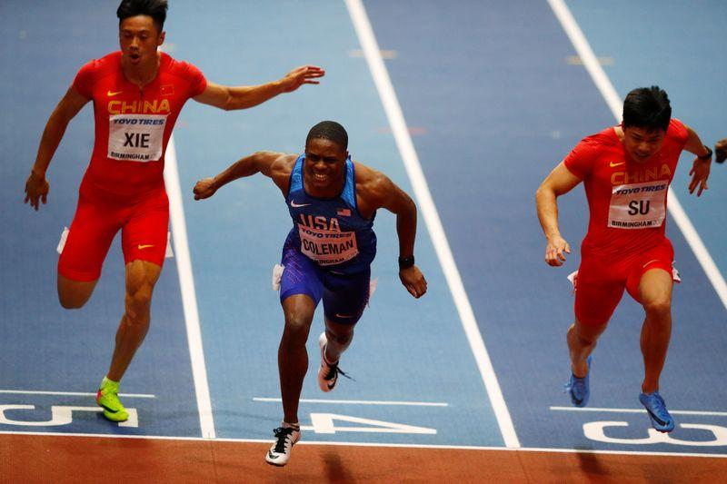 Coleman looking to post fast time in 60m at U.S. championships