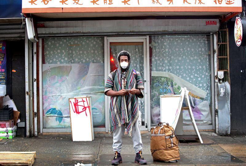 Resultado de imagen de chinatown en nueva york coronavirus
