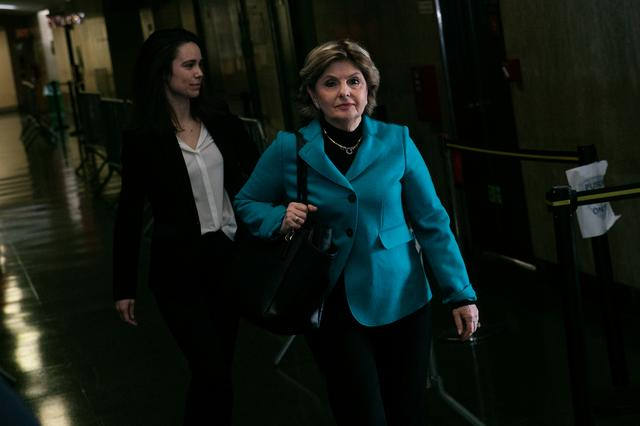 Attorney Gloria Allred arrives at New York Criminal Court for Harvey Weinstein sexual assault trial in the Manhattan borough of New York City, New York, U.S., February 14, 2020. REUTERS/Jeenah Moon