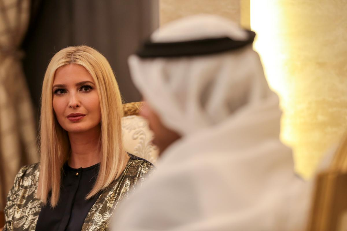 Ivanka Trump visits the UAE for women's conference