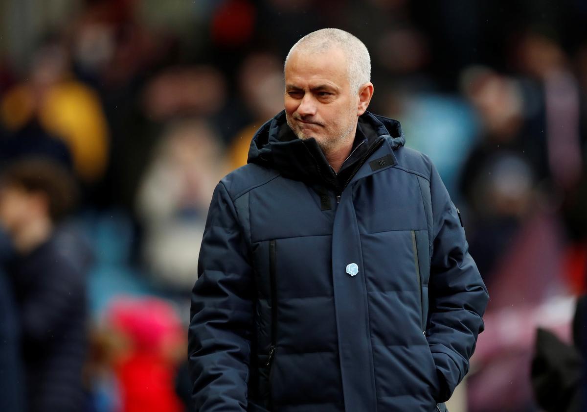 After UEFA ban, Mourinho jokes about Guardiola's 2018 title
