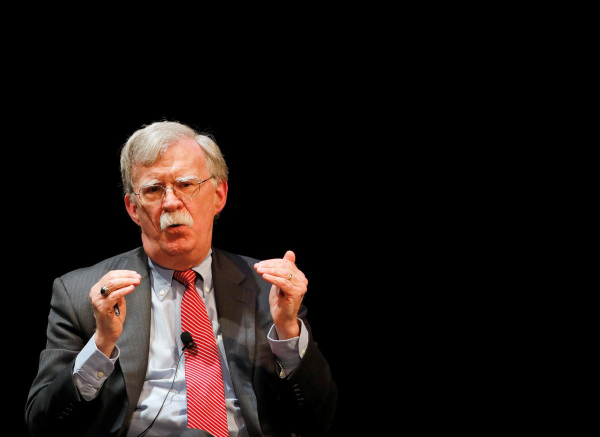 Bolton says he hopes book is not 'suppressed' by White House