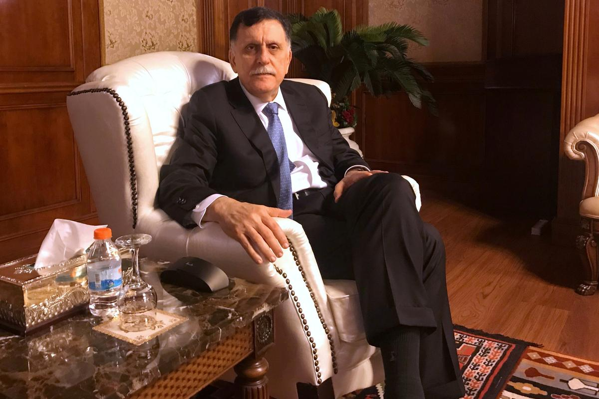 Libya's Serraj says talk about resuming peace negotiations has been overtaken by events