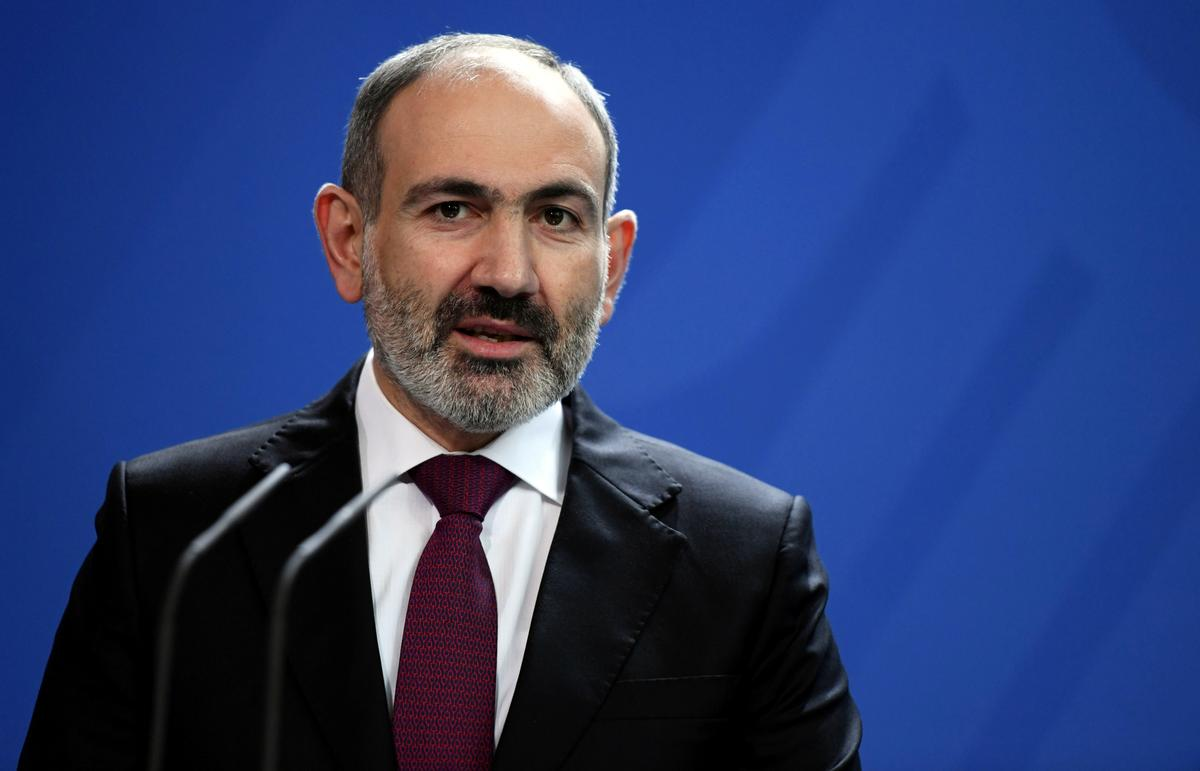 Armenian PM dismisses two senior defense officials