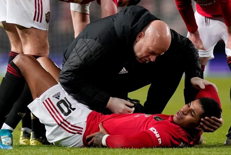 Injured Rashford a doubt for Euro 2020 - Solskjaer