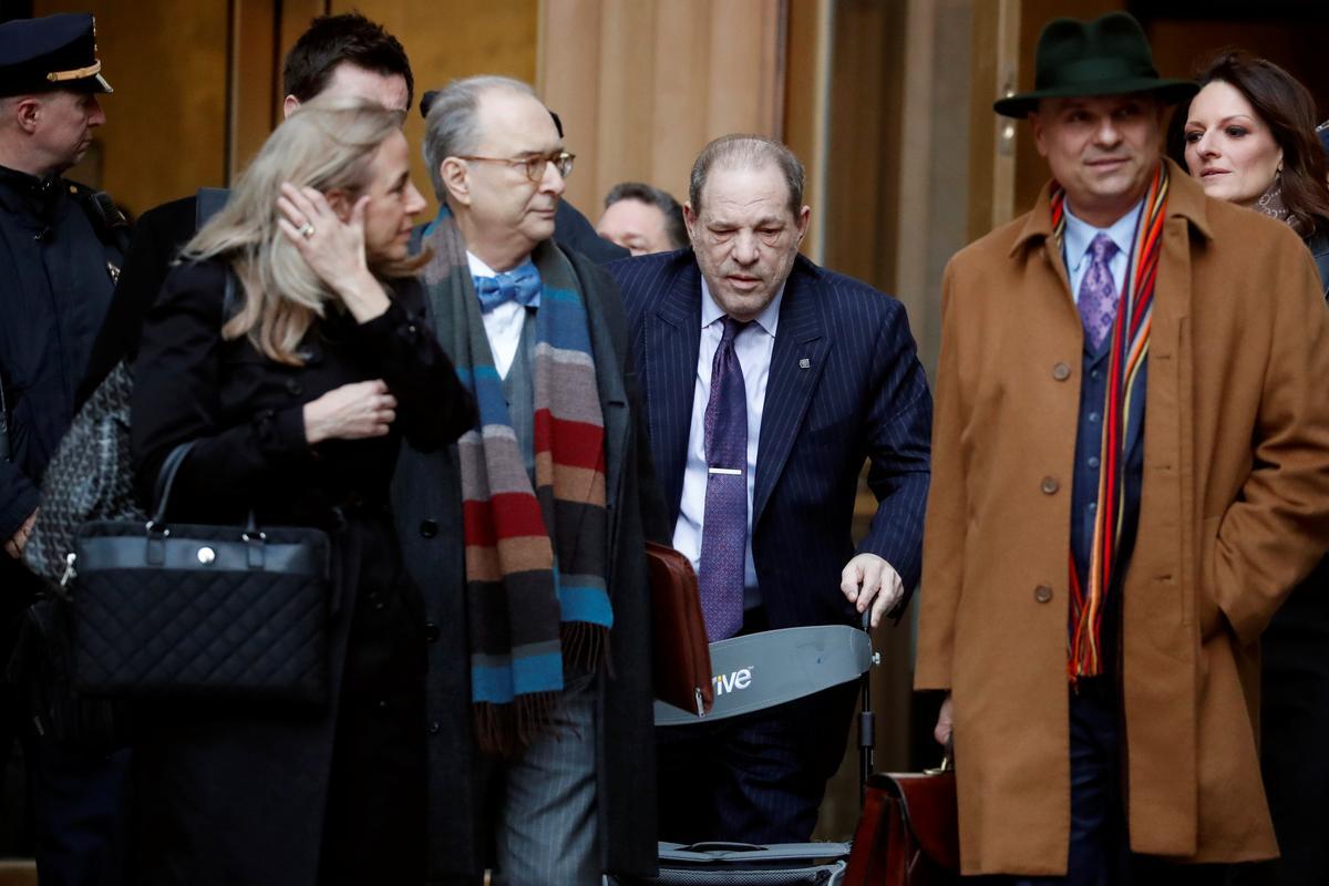 Jurors in Weinstein rape trial ask to review Rosie Perez testimony