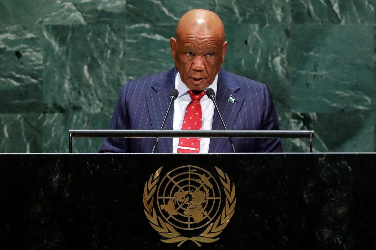 Lesotho's prime minister to be charged with murder of wife: police