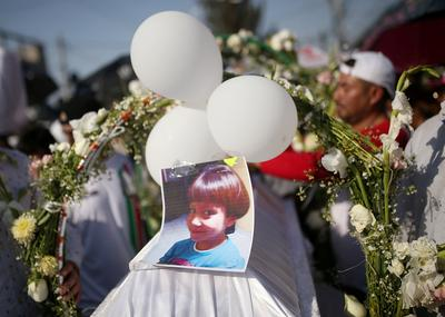 Outrage after young girl murdered in Mexico