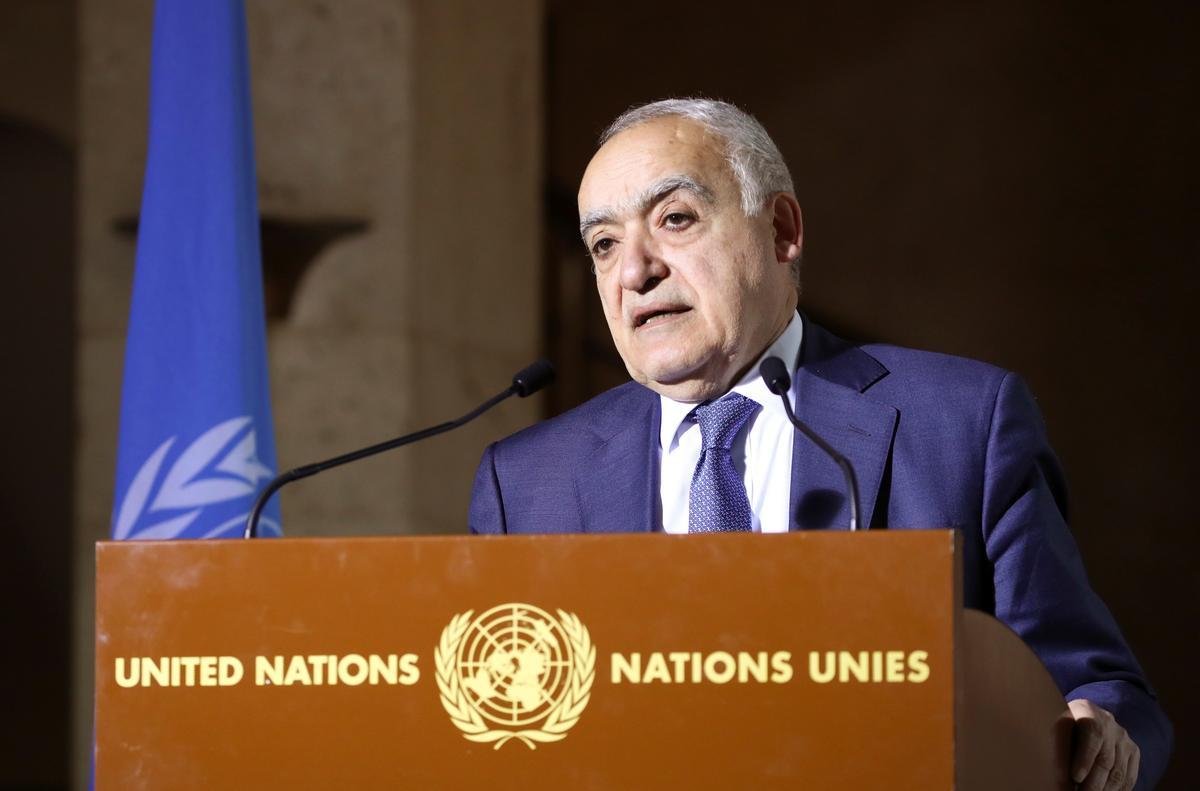 Libya ceasefire talks going in 'right direction' - U.N. envoy tells Reuters