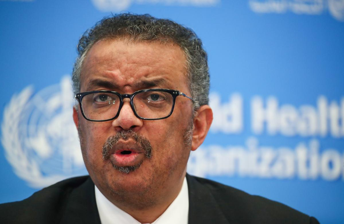 World must act fast to contain coronavirus: WHO's Tedros