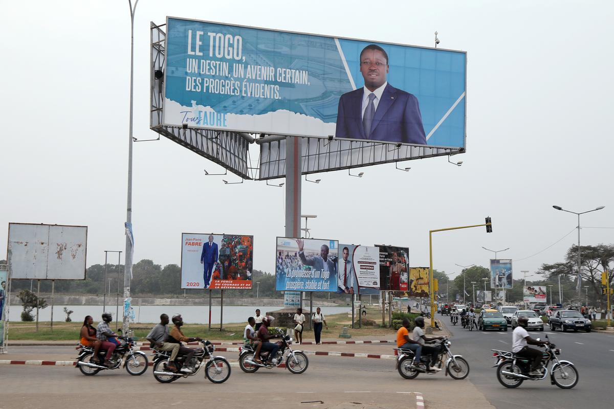Togo votes as Gnassingbe seeks to extend dynasty's half-century rule