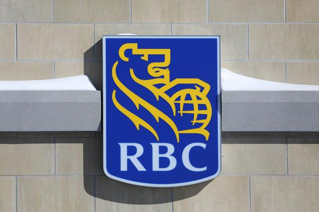 The Royal Bank of Canada (RBC) logo is seen outside of a branch in Ottawa, Ontario, Canada, February 14, 2019. REUTERS/Chris Wattie