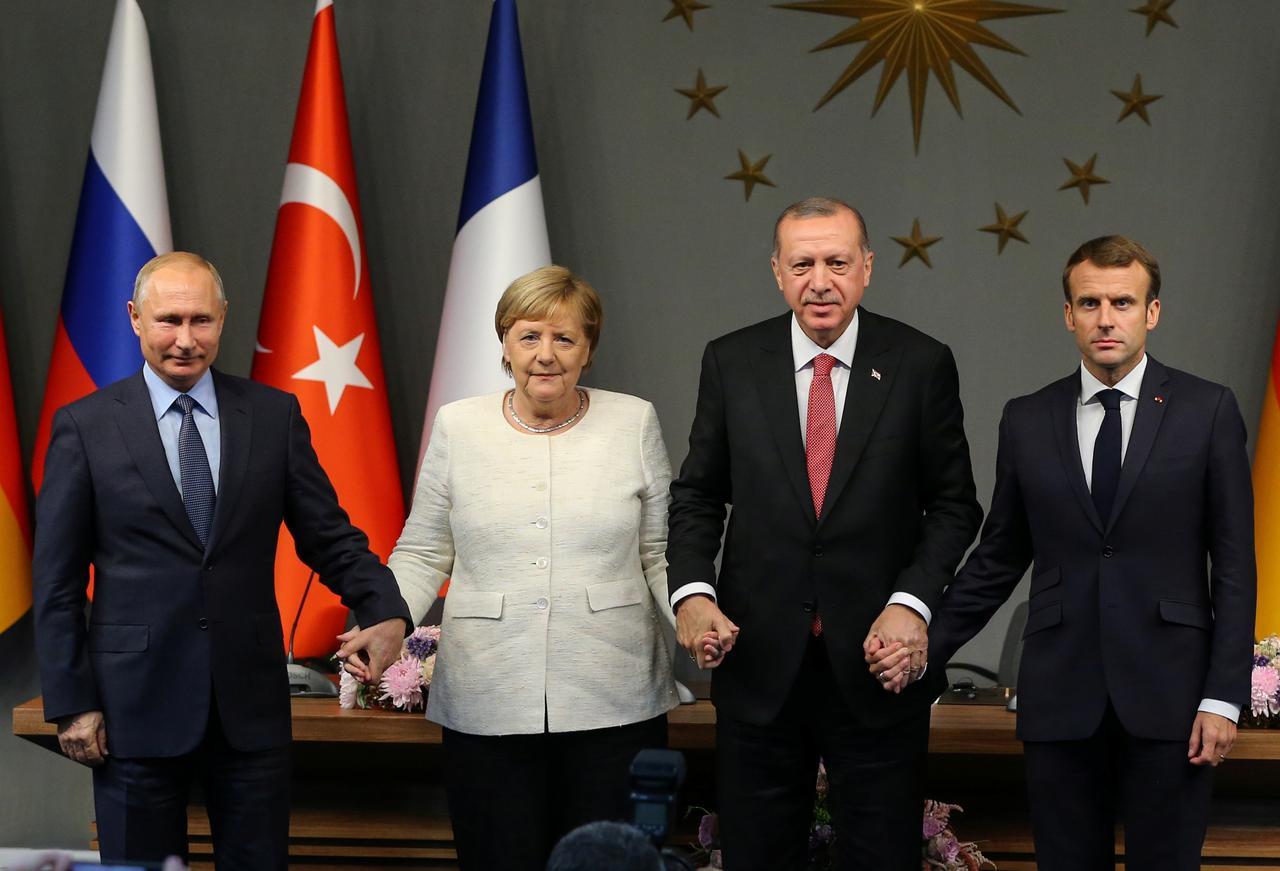 Erdogan najavio sastanak s Putinom, Merkel i Macronom zbog krize u Idlibu