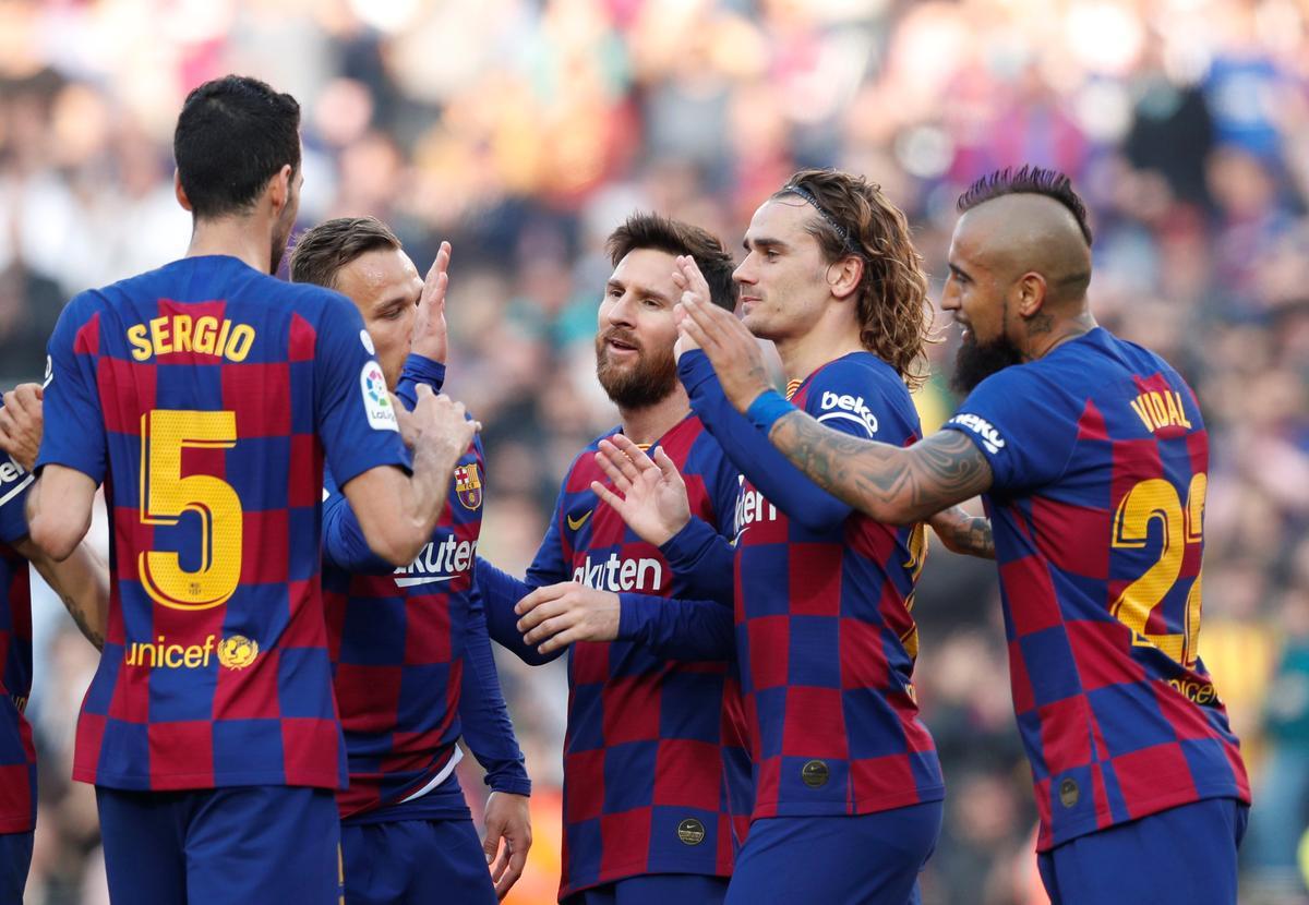Marvellous Messi hits four as Barca hammer Eibar 5-0