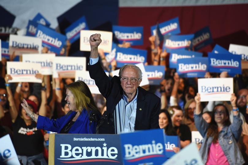 Bernie Sanders wins Nevada caucuses | Pictures | Reuters