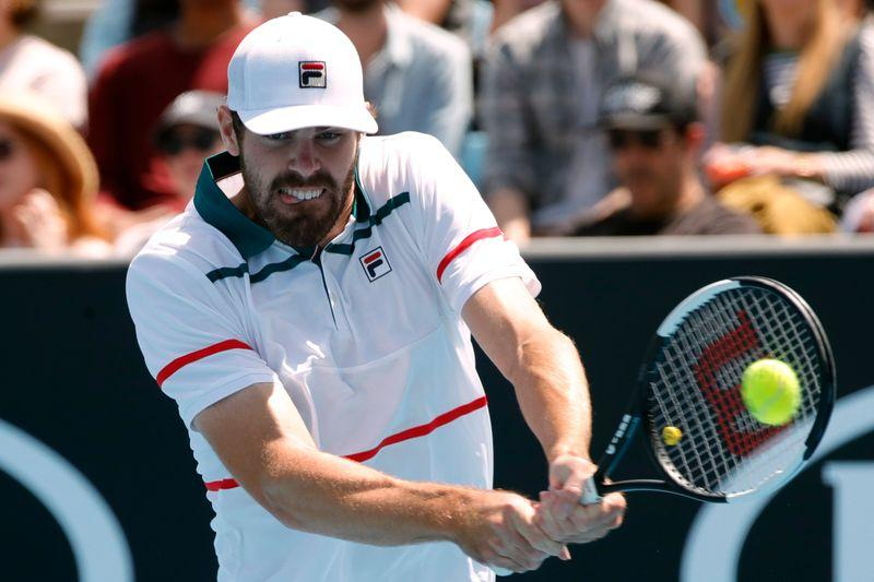 Opelka fires 27 aces in beating Nishioka in Florida