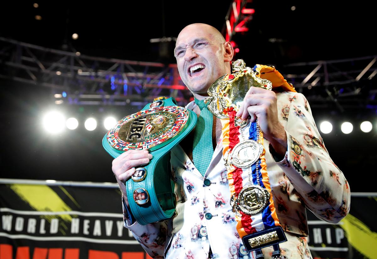 Fury says 'Let's go A.J.' though Wilder first has rematch option