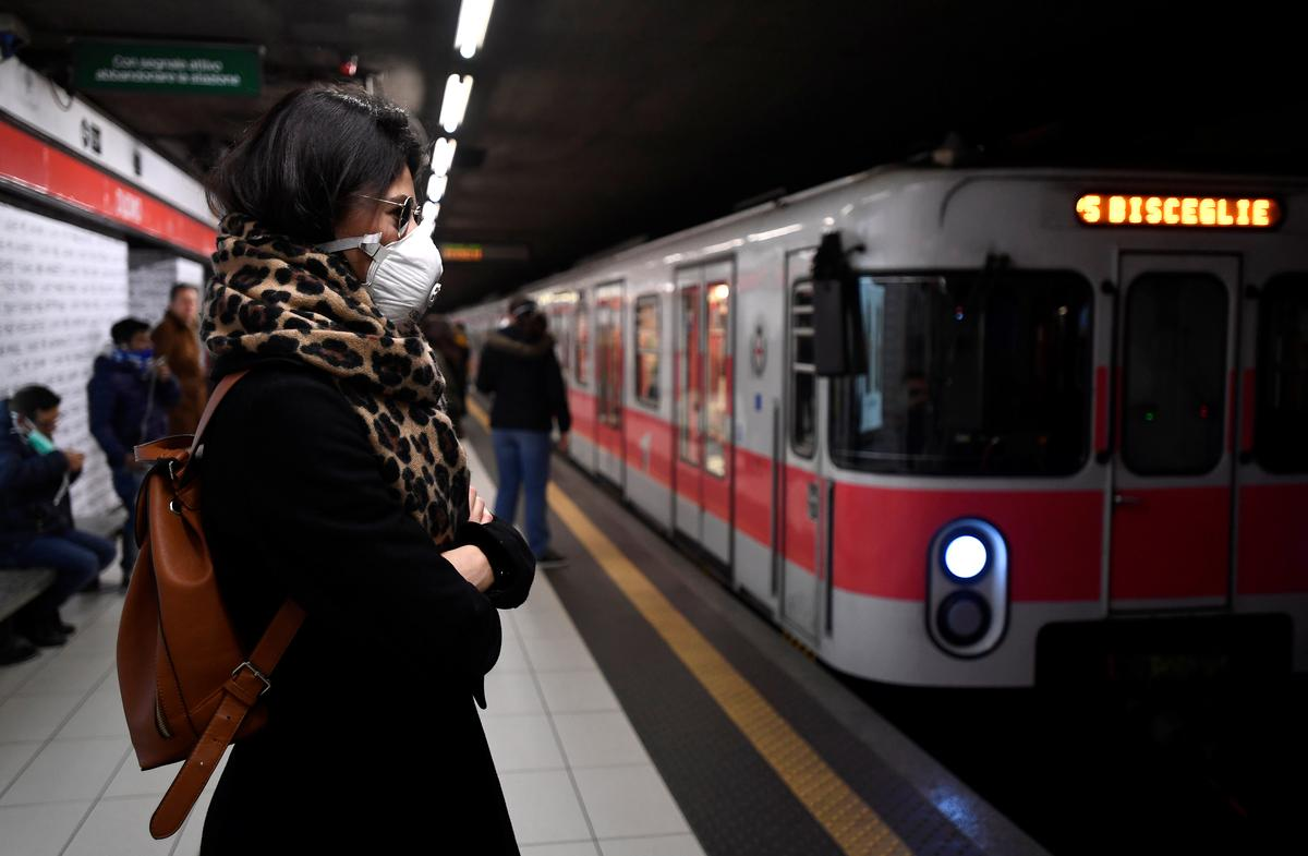 Fourth Italian dies from coronavirus in worst flare-up outside Asia