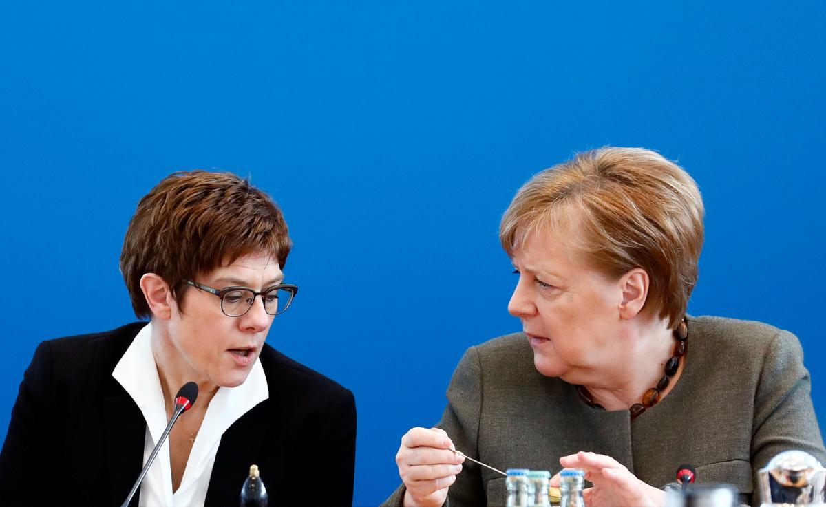 Merkel's crisis-hit CDU sets April 25 congress to pick new leader